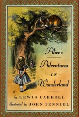 Image result for alice's adventures in wonderland book cover