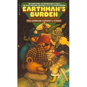 Earthman's Burden Book Cover
