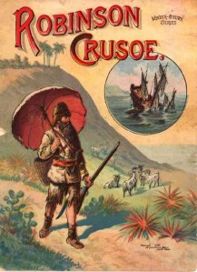 Robinson Crusoe book cover