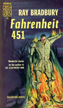 Fahenheit 451 Book Cover