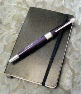 My Moleskine Pocket Notebook and Cross Beverly Fountain Pen