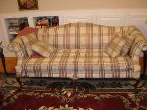 Renee Johnson Writing room with sofa