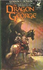 The Dragon and the George Book Cover