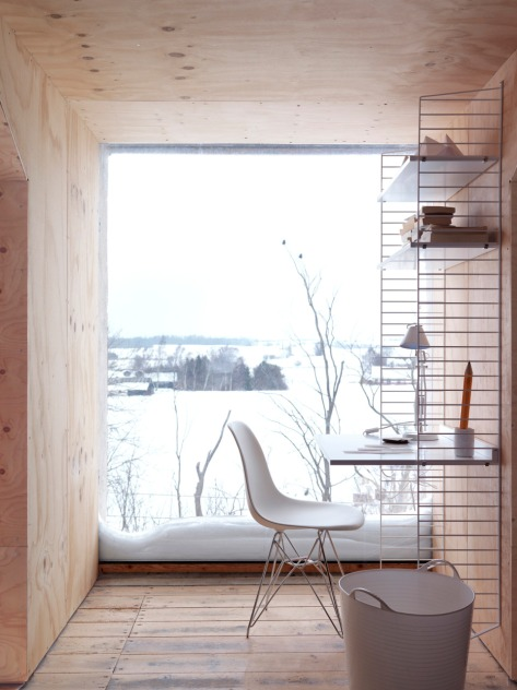 Scandinavian Writing Nook