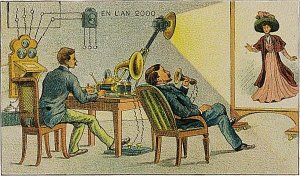 Victorian Postcard - Video Chat