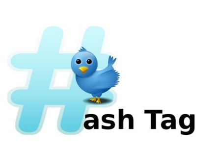 Use of Twitter #Hashtags for Authors