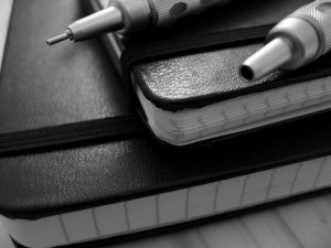 Moleskine Notebook - CC photo by Paul Worthington