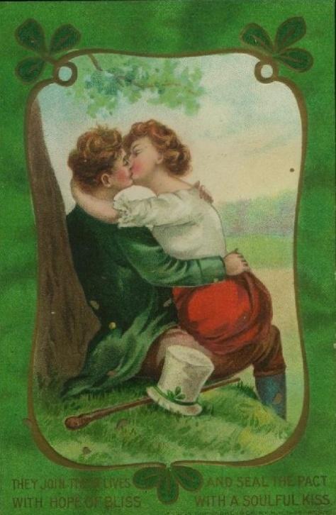 St. Patrick Day - circa 1910 - Vintage Postcard