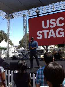 Poet Jevon Johnson - LA Times Book Festival