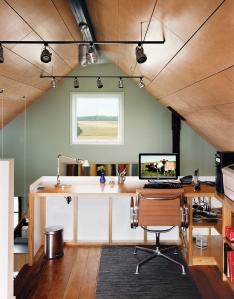 Gable Loft Office at the Farm