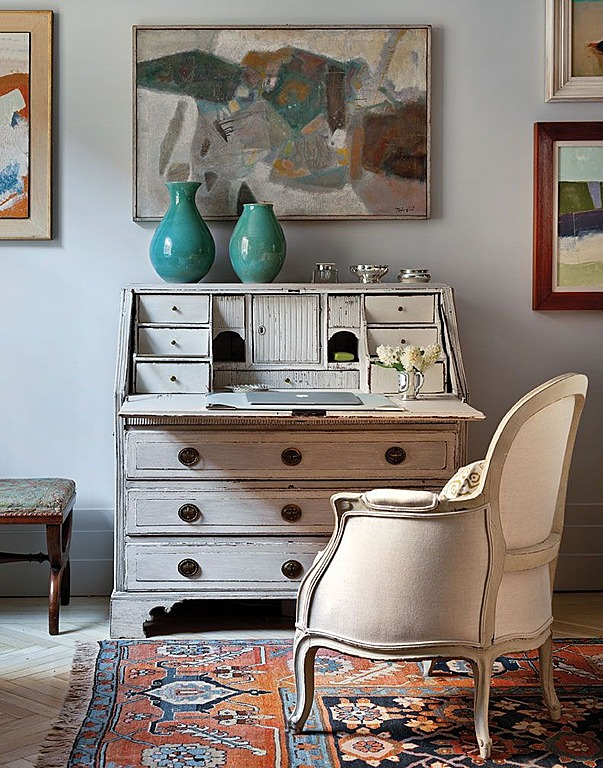 writing space shabby chic desk no wasted ink. Black Bedroom Furniture Sets. Home Design Ideas