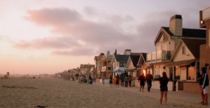 newport beach pedestrian walk