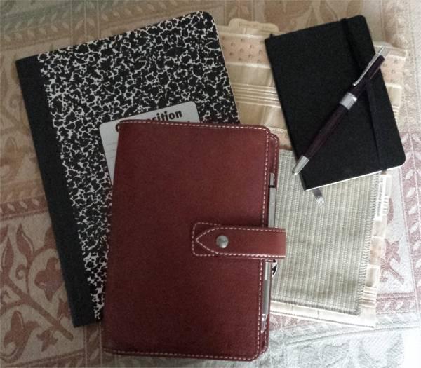 Filofax and Notebooks