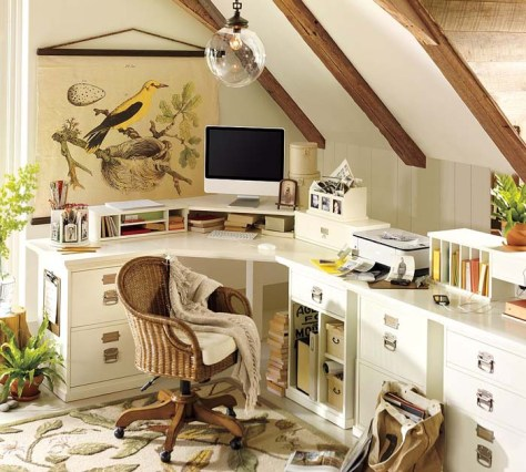 Treehouse Inspired Home Office