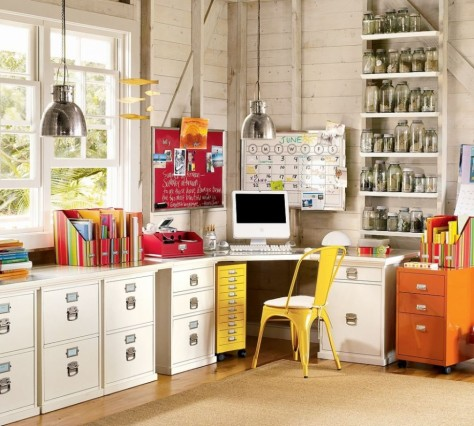 Confettii Colored Home Office