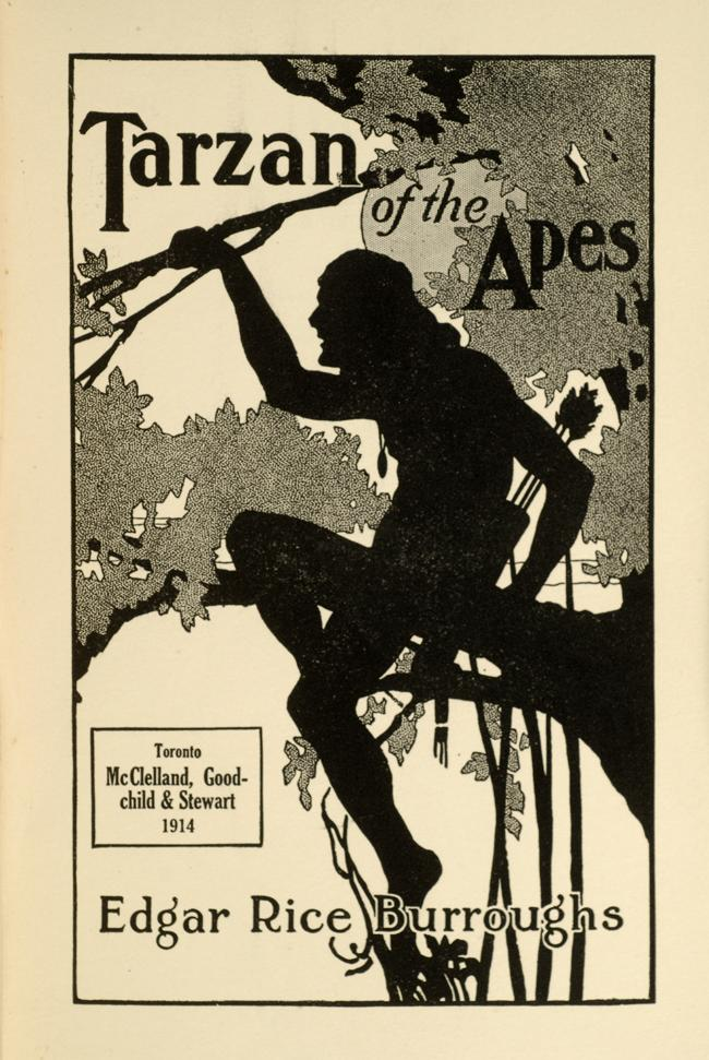 Tarzan of The Apes Book Tarzan of The Apes Book Cover