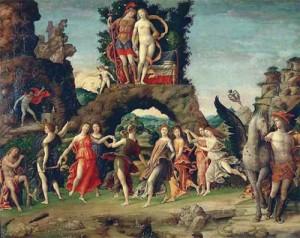 Nine Muses Painting