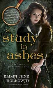 A Study in Ashes Book Cover
