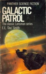 Galactic Patrol Book Cover