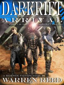 Darkrift Arrival Book Cover
