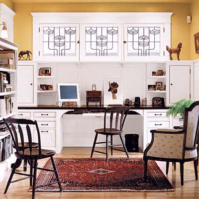Art Deco Style Home Office