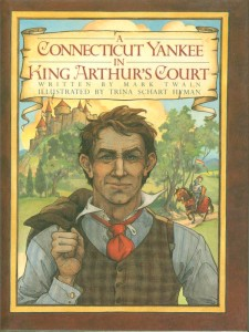 A Connecticut Yankee in King Arthur's Court Book Cover