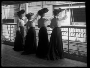 Women on Ship (1800s)
