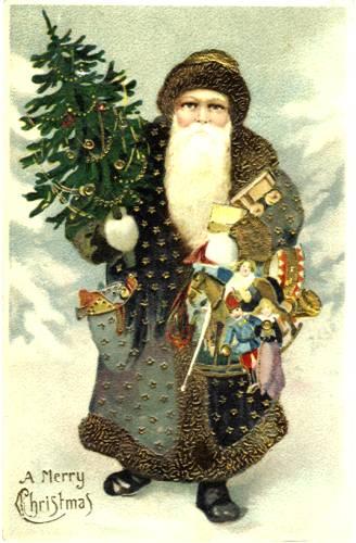 Victorian Postcard - Christmas