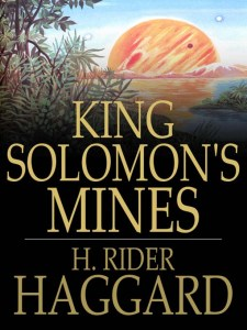 King Solomon's Mines Book Cover