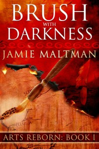 Brush with Darkness Book Cover