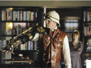 Nathan Fillion in Steampunk Garb