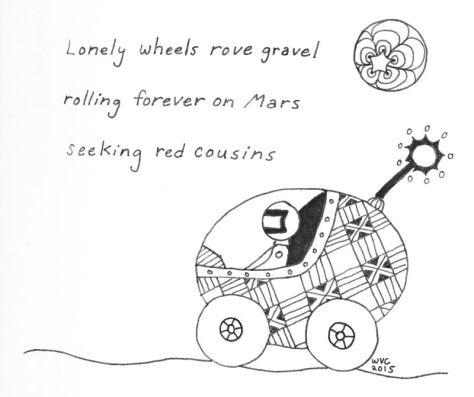 Scifaiku - Rover