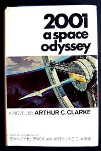 2001 A Space Odyssey book cover