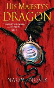 His Majestey's Dragon Book Cover