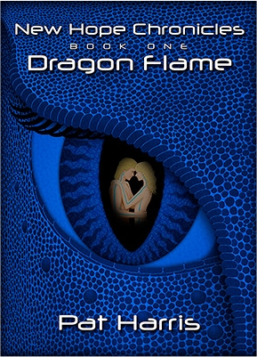 Book Cover Dragon Flame