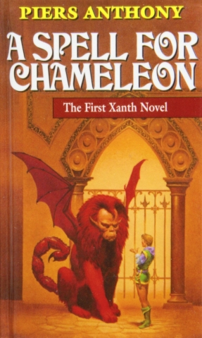 A Spell For Chameleon Book Cover