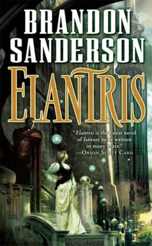 Elantris Book Cover