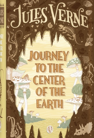Journey to the Center of the Earth Book Cover