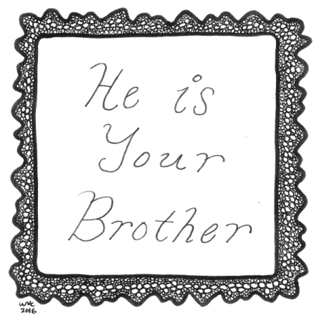 He Is Your Brother - Poem Header (blog)