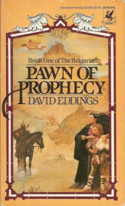 Book Cover Pawn of Prophecy