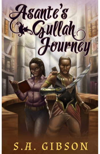 Book Cover Asantes Gullah Journey