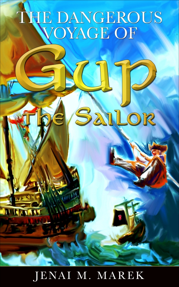 The_Dangerous_Voyage_of_Gup_the_Sailor Book Cover