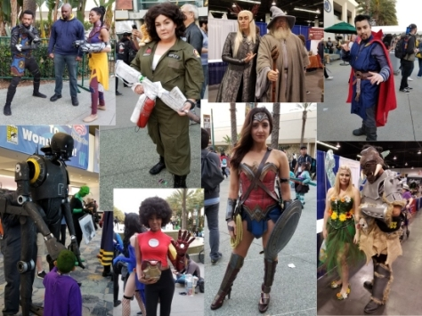 WonderCon 2018 Cosplay Composite