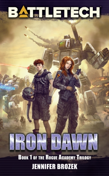 Iron Dawn Cover for display