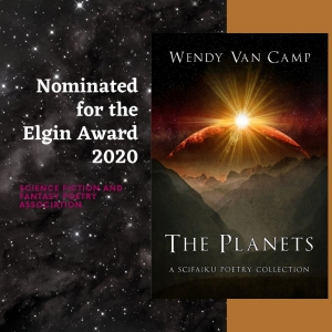 The Planets: a scifaiku poetry collection is nominated for the 2020 Elgin Award