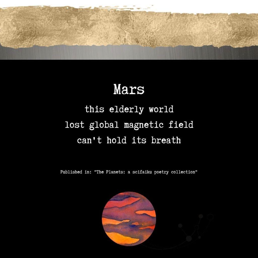Scifaiku Poem by Wendy Van Camp - Mars