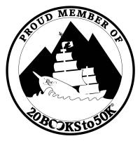 Proud Member of 20Books to 50K
